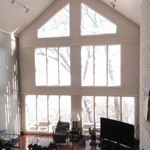 The Honey Do Handyman Large Window Curtain Rods