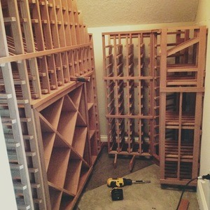 The Honey Do Handyman Wine Cellar