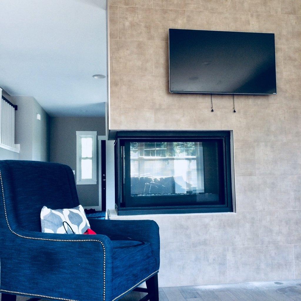 Mount TV To Tile Fireplace | The Honey Do - Handyman